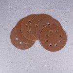 UEETEK 40pcs 8 pouce 5 trou poncer disques ronds 60 80 120 210 Grit pour Bosch PEX 220/300 Ponceuse orbitale 125mm de la marque UEETEK image 3 produit
