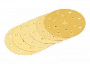 WAbrasive Disque Abrasif 150 mm & Disque Ponceuse 150 | Disque Abrasif 150mm | 60 Disques Abrasif Grain 40/60/80/120/180/240 | Idéal pour Ponceuse de la marque WAbrasive image 0 produit