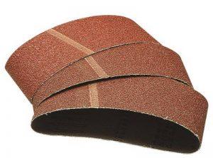 WOLFCRAFT 1899100 - Lijas de banda abrasiva grano 40,80,120 65 x 410 mm de la marque Wolfcraft image 0 produit