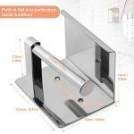 YISSVIC Porte Papier Toilette 304 Acier Inoxydable Support Papier Rouleau Installation avec Vis ou 3M Adhésif Haute Brillance de la marque YISSVIC image 2 produit